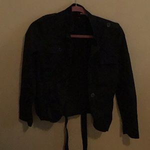 Black Utility Jacket from H&M